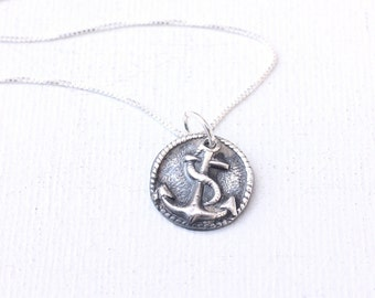 """Handmade """"Anchor Necklace"""" 