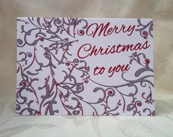 Christmas Flourish Greeting Cards