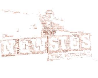 Newsies Typography