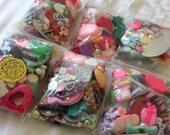 Bag of Destash Extra Cabochon Beads Kawaii Grab Bag