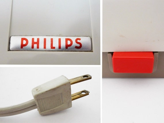 Vintage Philips Electric Knife Sharpener By Popbam On Etsy