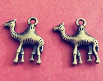20pieces  23*20mm camel charm-  antique bronze charm pendant  Jewelry Findings