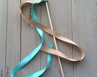 Wedding Ribbon Birthday Party Wands or Streamers- Cheer Spirit Ribbon Wands Wedding Decorations