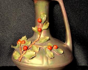 Stellmacher Holly Vase circa 1900