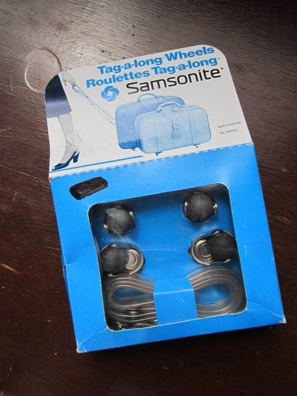 Samsonite Luggage Replacement Wheels With Strap Tag A Long