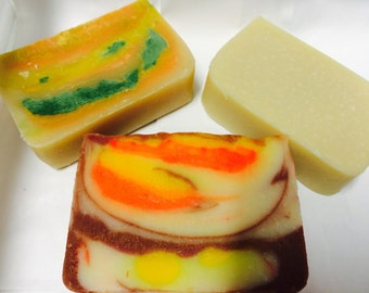 Soap set - buy 3 - pick 3 - choose 3 - select 3 - soaps - in stock - flat rate shipping