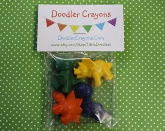 Dinosaur Crayons - 35 Sets of 4 / Kids Eco Friendly Gift