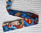 Superman Toy Leash - Perfect for toys, teething rings, snuggies and sippy cups!