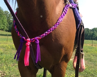 Breast collar with wither strap horse tack rodeo equestrian