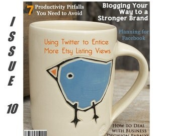 Handmadeology Magazine - Issue 10 - Social Media Marketing - Twitter - Facebook