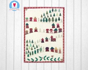 Alpine Village Miniature Quilt Pattern