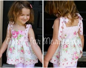 Alyssa Top, Tunic and Dress PDF Pattern instant download size 6mnth-14years
