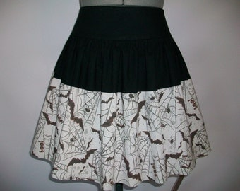 Spiders and Bats Skirt