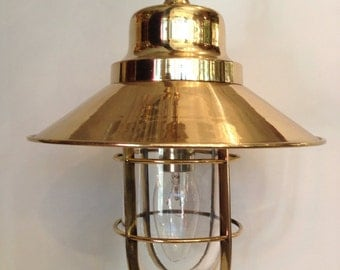 Amazing vintage industial pendant / hanging lamp (z51)