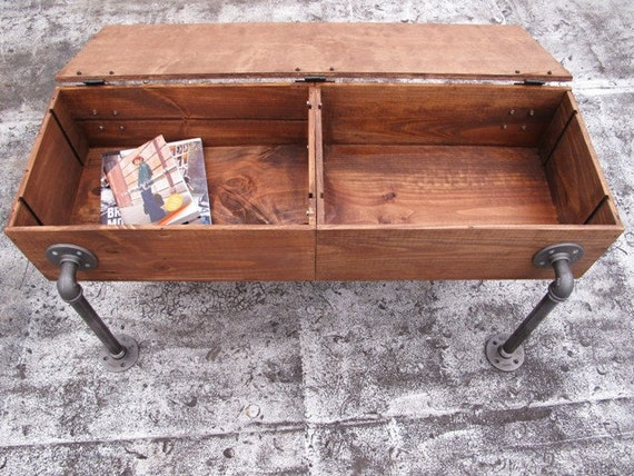Custom Coffee Tables Aka Slim Jim By LePetitMonster1 On Etsy