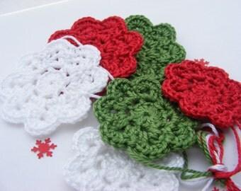 Crochet doilies x 6