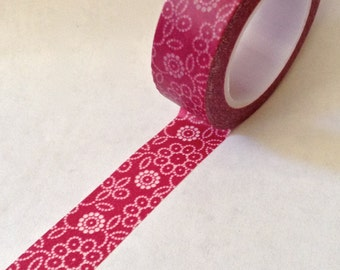 """SALE  Washi Tape, """"bedazzeled""""  10 Meters"""