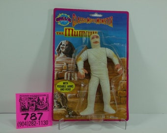 1986 Imperial Toy Co.Universal Pictures Classic Monster Figure-The Mummy