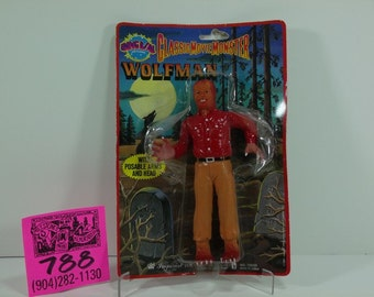 1986 Imperial Toy Co.Universal Pictures Classic Movie Monster-The Wolfman