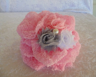 Cotton Candy Cheesecloth Headband Set.   Photography cheesecloth Headband Set.. Newborn cheesecloth..
