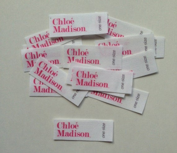 fabric labels for handmade items items similar to 60 custom fabric labels on etsy 8378