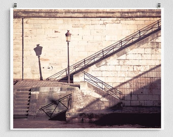 Paris photography - Shadows - Paris photo,Fine art photography,Paris decor,8x10 wall art,white,Fine art prints,Art Posters,white,brown