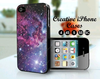 Fox Fur Nebula Space Galaxy phone case for iPhone 4/4S, iPhone 5/5S, iPod Touch 4, iPod Touch 5, Samsung Galaxy S3, Samsung Galaxy S4