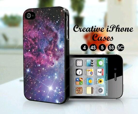 Fox Fur Nebula Space Galaxy phone case for iPhone 4/4S, iPhone 5/5S, iPod Touch 4, iPod Touch 5, Samsung Galaxy S3, Samsung Galaxy S4