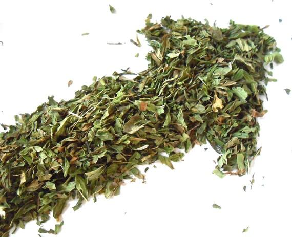 Organic SPEARMINT Leaf - Makes a Delicious Tea - Fresh, Cooling, Mint Leaves