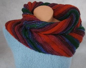 Rainbow - universal cowl, vest, skirt, scarf