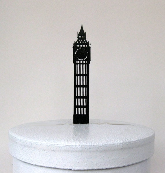 Cake Topper Wedding Cake Topper Big Ben