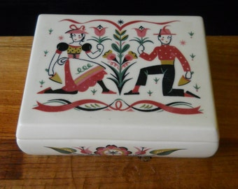 Vintage BraytonTrinket Box With Lid
