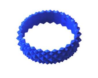 3D printed Studs Bracelet Blue (Nylon)