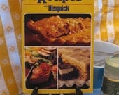 Vintage 80s Betty Crocker's 50 years of Creative Recipes with Bisquick