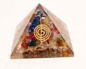 Orgone Chakra Pyramid With Reiki Symbols Chakra Healing, Reiki Healing