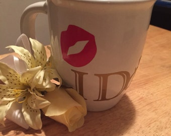 "Personalized ""I Do"" mug"