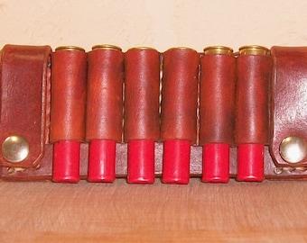 DKM Leathers Shotgun Shell Belt Slide