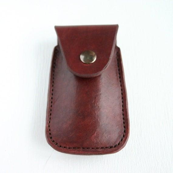 Pocket Knife Holder Leather Pocket Knife Holder For Belt
