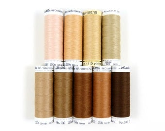 Skin Tone Sewing Thread from Germany for Waldorf Doll Making