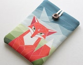 Woodland Fox Kindle cover, available for Kobo sleeve, Nook cover, Nexus 7 case, Kindle Fire, 7 inch tablet, Sony Reader