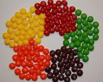 Custom Skittle order: 2 lb Yellow and 2 lb purple