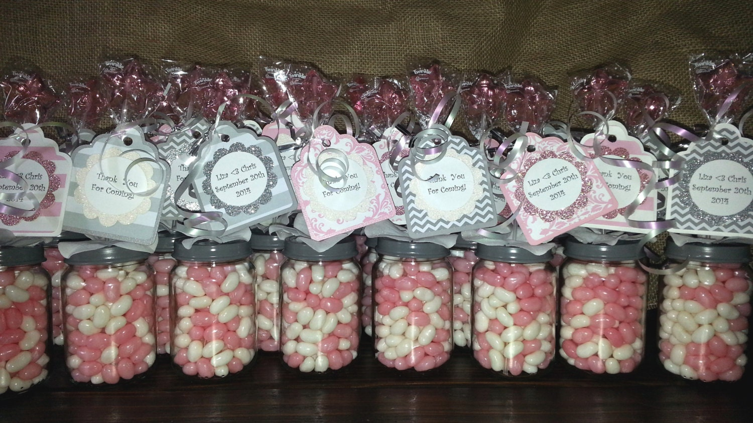 Bridal Shower Or Baby Shower Baby Food Jar Party Favors!   Birthday Party,  Baby