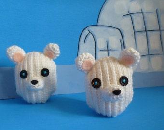 Mittens Fluff 'N Stuff Polar Bear