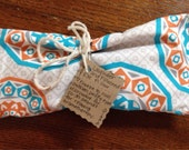 Lavender and Flaxseed Eye Pillow