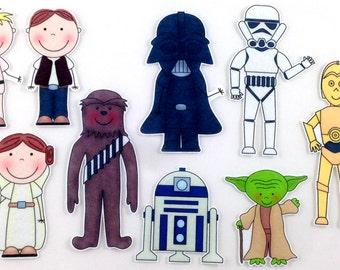 Star Wars Felt Board Story Set