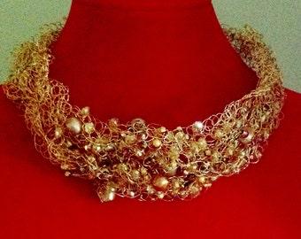 Golden Collar Necklace