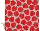 Strawberries Shower Curtain - Ornaart Design