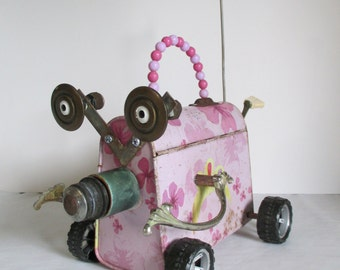 DREAM MACHINE- Found object sculpture