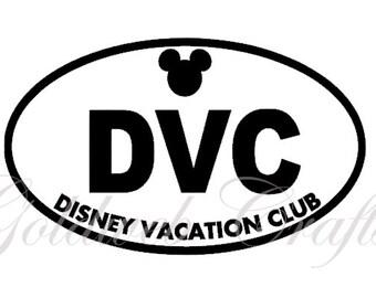 DVC - Disney Vacation Club Inspired Vinyl Car Decal