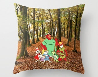 Disney's Robin Hood Pillow with insert